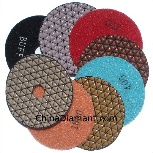 Diamond Dry Polishing Pads